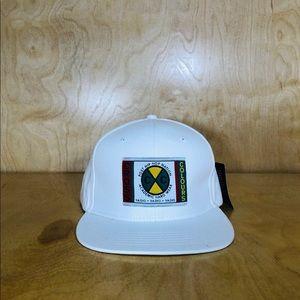 NWT Cross X Colours White SnapBack Hat